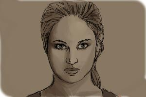 how to draw tris prior beatrice from divergent drawingnow