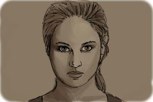 How to Draw Tris Prior, Beatrice from Divergent