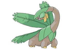 How to draw Tropius
