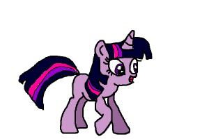How to draw Twilight from MLP