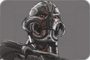 How to Draw Ultron from Avengers: Age Of Ultron