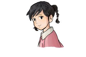 How to Draw Umi from From Up On Poppy Hill