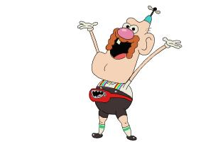 How to draw Uncle Grandpa
