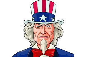 how to draw uncle samUncle Sam Drawing Tutorial