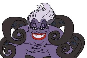 how to draw ursula drawingnow