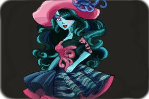How to Draw Vandala Doubloons from Monster High
