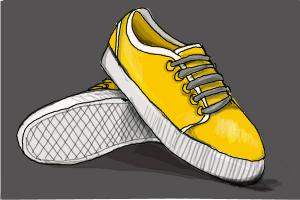 f7e73bcd3cb How to Draw Vans Shoes - DrawingNow