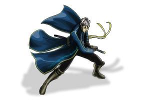 How to draw Vergil from Devil May Cry