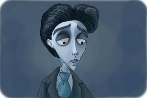 How to Draw Victor Van Dort from Corpse Bride