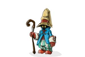 How to Draw Vivi from Final Fantasy 9