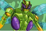 How to draw Waspinator from Beast Wars