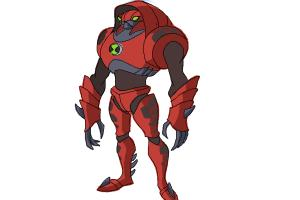 How to Draw Waterhazard from Ben 10 Omniverse