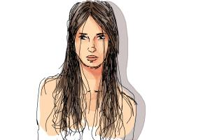 How to Draw Wet Hair