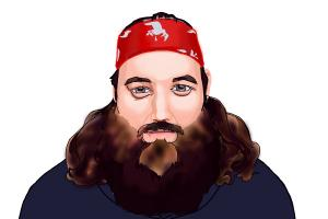 How to Draw Willie Robertson from Duck Dynasty