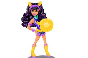 How to Draw Wonder Wolf, Clawdeen Wolf