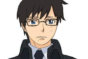 How to draw Yukio Okumura from Ao No Exorcist, Blue Exorcist