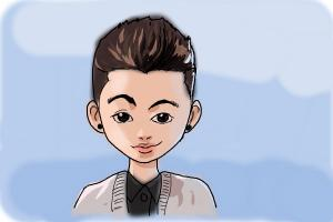 How to Draw Zayn Malik Cartoon
