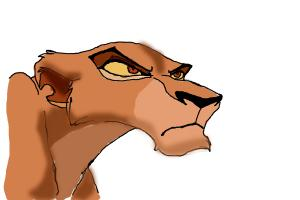 How to draw Zira from The Lion King 2