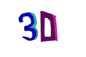 How to make your own 3D-word