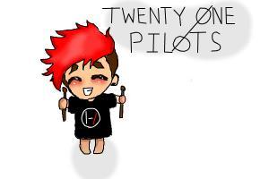 Josh from 21 Pilots