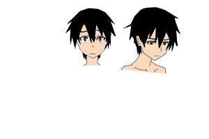 kirito's faces :P part 1