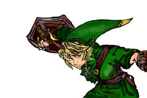 Link from The Legend Of Zelda