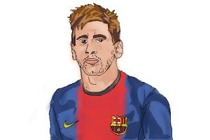 Lionel Messi King!!