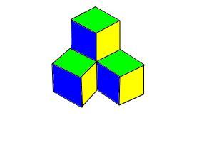 Multiple cubes