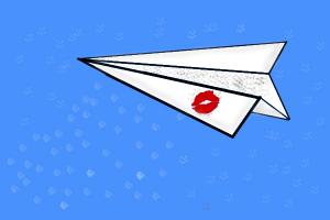 Paper Plane from Paperman