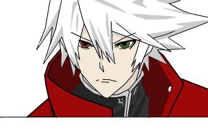 Ragna the BloodEdge from BlazBlue Alter Memory