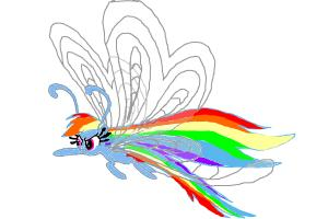 Rainbow Dash Breezie