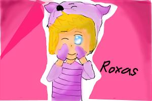 Roxas And Hes Piglet Cosplay