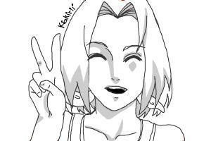 Sakura Haruno - Naruto [Tutorial]