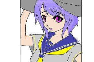 some raindom anime girl