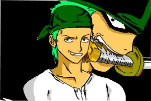 Zoro from Onepiece