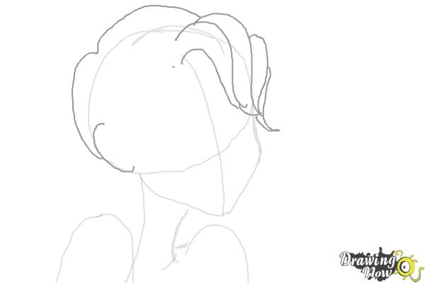 How to Draw Nikki J. Maxwell from Dork Diaries - Step 3