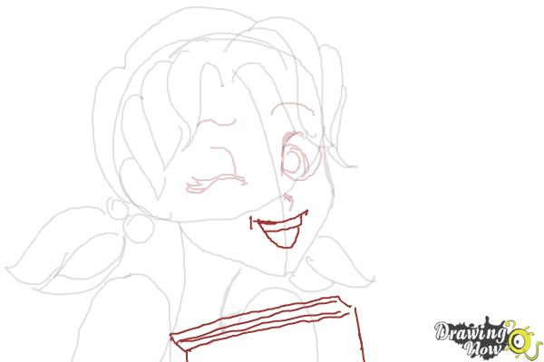 How to Draw Nikki J. Maxwell from Dork Diaries - Step 6
