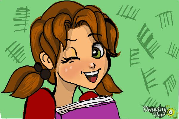 How to Draw Nikki J. Maxwell from Dork Diaries - Step 8