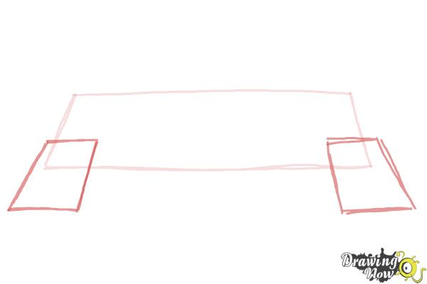 How to Draw a Banner - Step 2