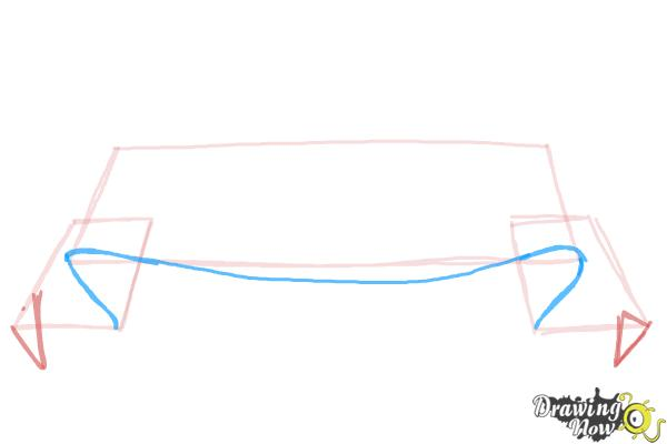 How to Draw a Banner - Step 3