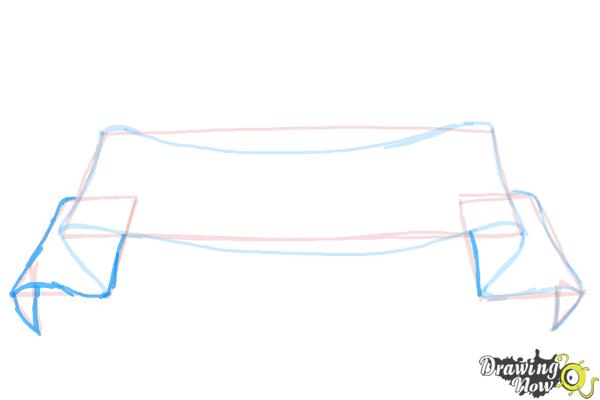 How to Draw a Banner - Step 5