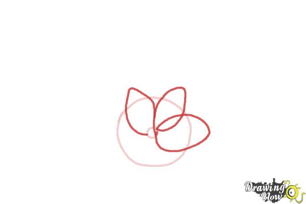 How to Draw a Beautiful Flower - Step 2