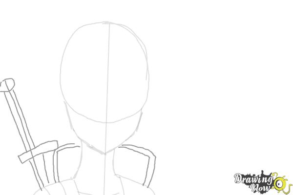 How to Draw Asuna And Kirito from Sword Art Online - Step 3