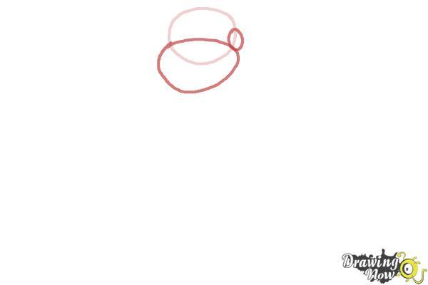 How to Draw Buddha - Step 2