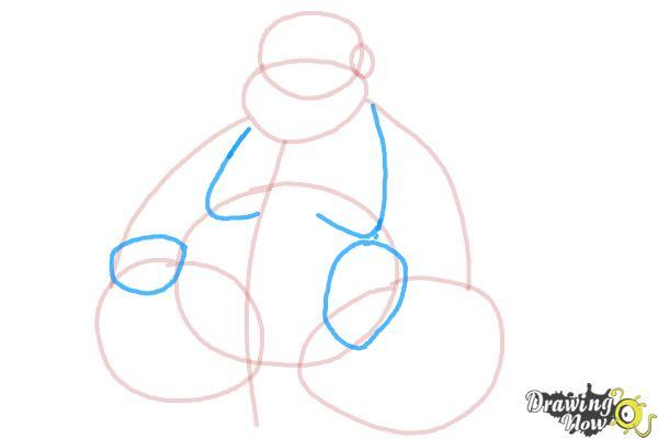 How to Draw Buddha - Step 5