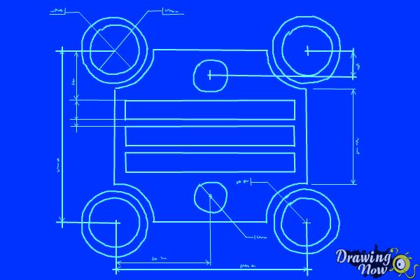 How to Draw a Blueprint - Step 10