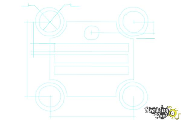 How to Draw a Blueprint - Step 7