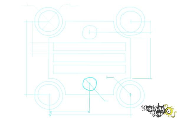 How to Draw a Blueprint - Step 8