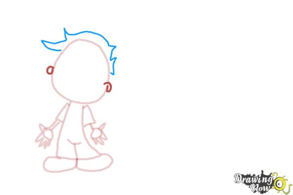 How to Draw Children - Step 4