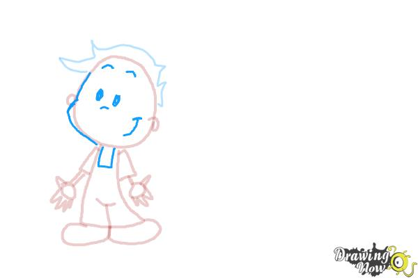 How to Draw Children - Step 5